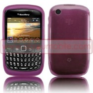 BOLSA / CAPA SILICONE GEL PARA BLACKBERRY 8520 / 9300 CURVE 3G ROSA
