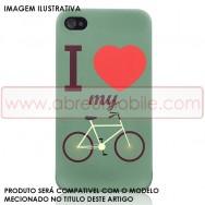 """Bolsa / Capa Silicone Gel Estampada """"Bicicleta"""" Para LG L65 / L65 DUAL / L70 / L70 DUAL"""