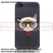 "Bolsa / Capa Silicone Gel ""Gato"" Para SAMSUNG GALAXY S5 G900 / S5 NEO G903"