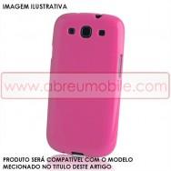 Bolsa / Capa Silicone Gel Para LG SPIRIT Y70 4G LTE 440N Rosa Opaca