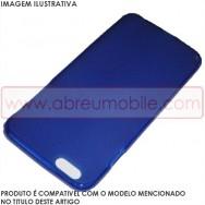 "Bolsa / Capa Silicone Gel Para APPLE IPHONE 7/8 (4.7"") Azul Transparente Fusca"