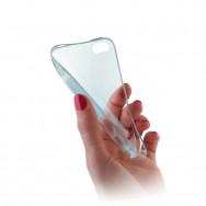 Bolsa / Capa Silicone Gel Ultra Fina Para LG SPIRIT Y70 4G LTE 440N Azul Transparente
