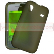 Bolsa / Capa Silicone Gel Para SAMSUNG GALAXY ACE S5830 s5839i CINZA FUSCA