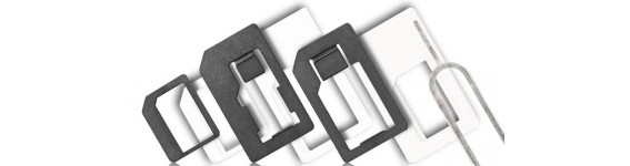 Adaptadores Cartão SIM (Nano - Micro - Normal)