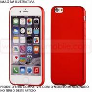 Bolsa / Capa Silicone Gel TPU Lacada Para LG K8 2017 Vermelha