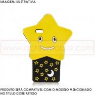 Bolsa / Capa Silicone Estrela 3D Para HUAWEI ASCEND P8 LITE
