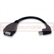 CABO ADAPTADOR MICRO USB PARA USB 2.0 OTG COMPATIVEL (COMPATIBILIDADE NA DESCRIÇÃO)