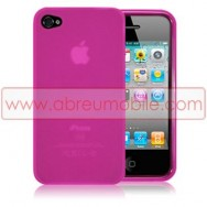 BOLSA / CAPA SILICONE GEL PARA APPLE IPHONE 4 / 4S ROSA
