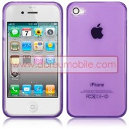 BOLSA / CAPA SILICONE GEL PARA APPLE IPHONE 4 / 4S ROXA (VIOLETA