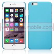 "Bolsa / Capa Rigida Traseira Hibrida (Plastico C/Revestimento Fino em Silicone) Para APPLE IPHONE 6 PLUS / 6s PLUS - 5.5"" Azul Opaca"