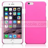 """Bolsa / Capa Rigida Traseira Hibrida (Plastico C/Revestimento Fino em Silicone) Para APPLE IPHONE 6 PLUS / 6s PLUS - 5.5"""" Rosa Opaca"""