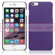 """Bolsa / Capa Rigida Traseira Hibrida (Plastico C/Revestimento Fino em Silicone) Para APPLE IPHONE 6 / 6s PLUS - 5.5"""" Roxa Opaca"""