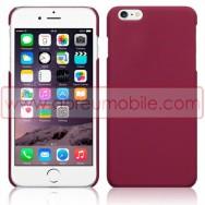 """Bolsa / Capa Rigida Traseira Hibrida (Plastico C/Revestimento Fino em Silicone) Para APPLE IPHONE 6 / 6s PLUS - 5.5"""" Vermelha Opaca"""