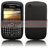 CAPA SILICONE PARA BLACKBERRY 8520 / 9300 CURVE 3G PRETA