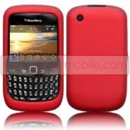 CAPA SILICONE PARA BLACKBERRY 8520 / 9300 CURVE 3G VERMELHA