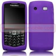 CAPA SILICONE PARA BLACKBERRY 9105 / 9100 CURVE 3G ROXA