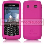 CAPA SILICONE PARA BLACKBERRY 9105 / 9100 CURVE 3G ROSA