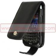 Bolsa / Capa Pele Sintetica Flip Cover Para BLACKBERRY 9700 / 9780 BOLD Preta