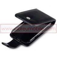 Bolsa / Capa Pele Sintetica Flip Cover Para BLACKBERRY BOLD 9790 Preta