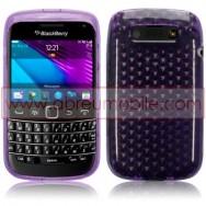 Capa Silicone Gel Para BLACKBERRY BOLD 9790 ROXA