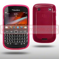 Capa Silicone Gel Para BLACKBERRY BOLD 9900 / 9930 TOUCH ROSA