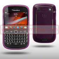 Capa Silicone Gel Para BLACKBERRY BOLD 9900 / 9930 TOUCH ROXA