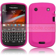 CAPA SILICONE PARA BLACKBERRY BOLD 9900 / 9930 TOUCH ROSA
