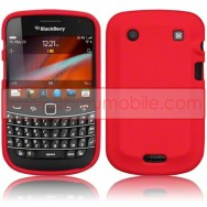 CAPA SILICONE PARA BLACKBERRY BOLD 9900 / 9930 TOUCH VERMELHA