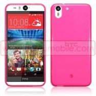 Capa Silicone Gel Para HTC DESIRE EYE Rosa Transparente