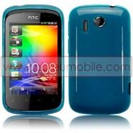 CAPA SILICONE GEL PARA HTC EXPLORER AZUL