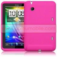 CAPA SILICONE Tablet PARA HTC FLYER TABLET ROSA