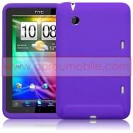 CAPA SILICONE Tablet PARA HTC FLYER TABLET ROXA
