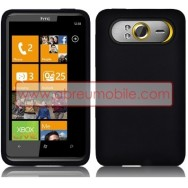 CAPA SILICONE PARA HTC HD7 PRETA