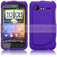 CAPA SILICONE PARA HTC INCREDIBLE S ROXA