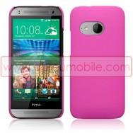 Capa Rigida Traseira Hibrida (Plastico C/Revestimento em Silicone) Para HTC ONE MINI 2 Rosa