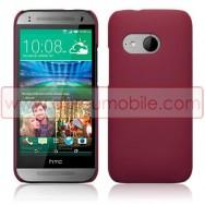 Capa Rigida Traseira Hibrida (Plastico C/Revestimento em Silicone) Para HTC ONE MINI 2 Vermelha