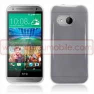 Capa Silicone Gel Para HTC ONE MINI 2 Branca Transparente