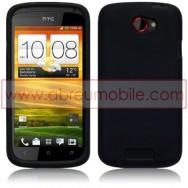 CAPA SILICONE PARA HTC ONE S PRETA