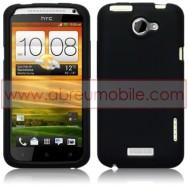 CAPA SILICONE PARA HTC ONE X / ONE X+ PRETA