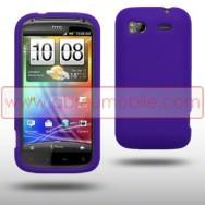 CAPA SILICONE PARA  HTC SENSATION / SENSATION XE ROXA