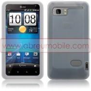 CAPA SILICONE PARA HTC VELOCITY LTE BRANCA (INCOLOR)