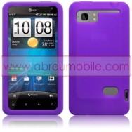 CAPA SILICONE PARA HTC VELOCITY LTE ROXA