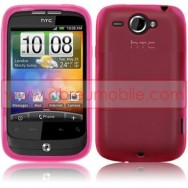 Capa Silicone Gel Para HTC WILDFIRE G8 ROSA CHOQUE FUCSIA