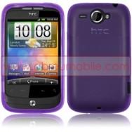 Capa Silicone Gel Para HTC WILDFIRE G8 ROXA VIOLETA