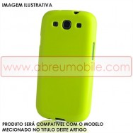 Bolsa / Capa Silicone Gel Para LG SPIRIT Y70 4G LTE 440N Verde Opaca