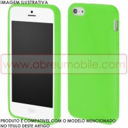 Capa Silicone Gel  Para SAMSUNG GALAXY CORE PLUS G350 Verde Opaca