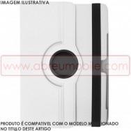 Bolsa / Capa Pele Sintetica Folio c/Ecra Rotativo Para SAMSUNG GALAXY TAB3 7.0 P3200 / P3210 / SM-T211 / SM-T215 Branca