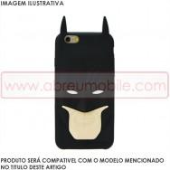 """Capa Silicone 3D """"Homen Morcego"""" Para SAMSUNG GALAXY S5 G900 / S5 NEO G903"""