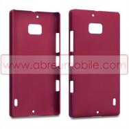 Capa Rigida Traseira Hibrida (Plastico C/Revestimento em Silicone) Para Nokia Lumia 930 Vermelha Opaca