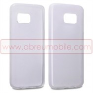 Bolsa / Capa Silicone Gel Para SAMSUNG GALAXY S7 EDGE (SM-G935) Transparente
